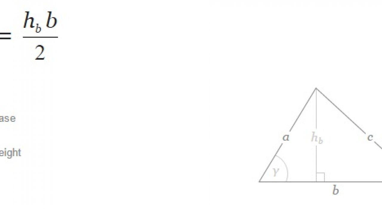 Contoh Soal Luas Segitiga Trigonometri