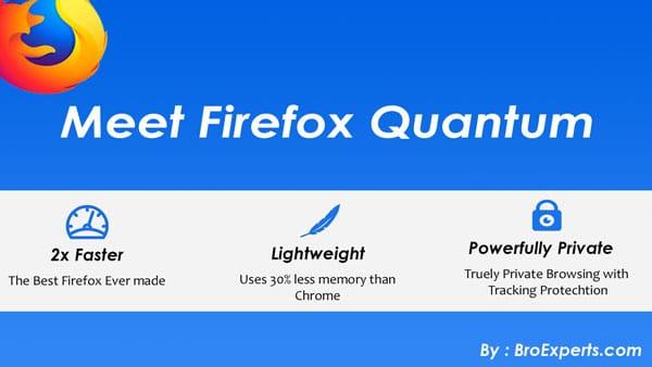 Firefox Quantum Browser