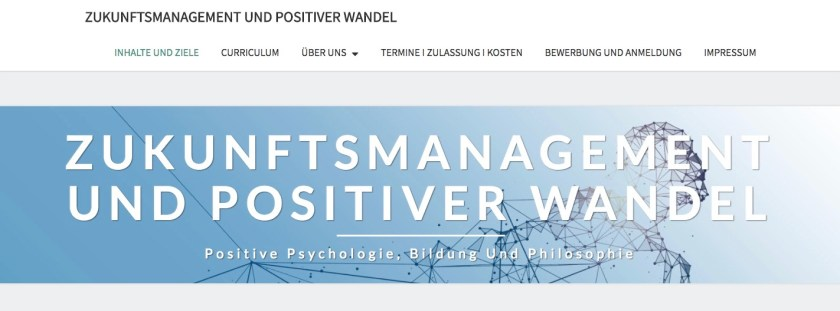 Positive Psychologie Studium