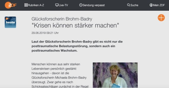 Michaela Brohm-Badry ZDF