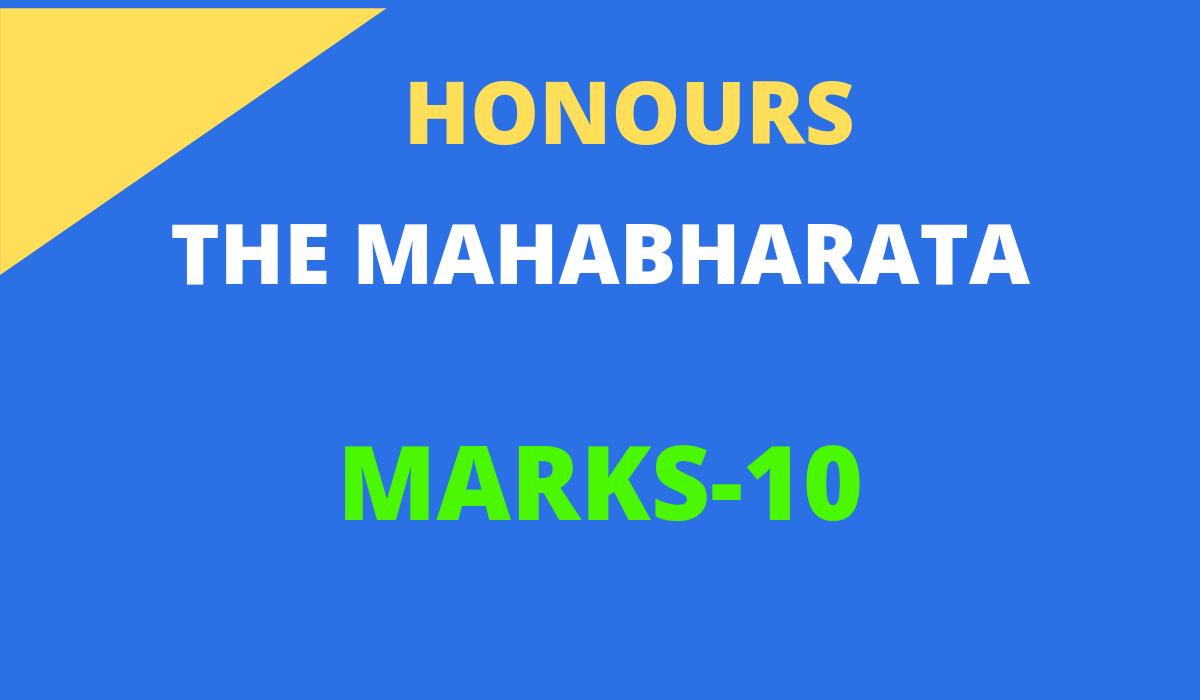 Mahabharata Question and answer