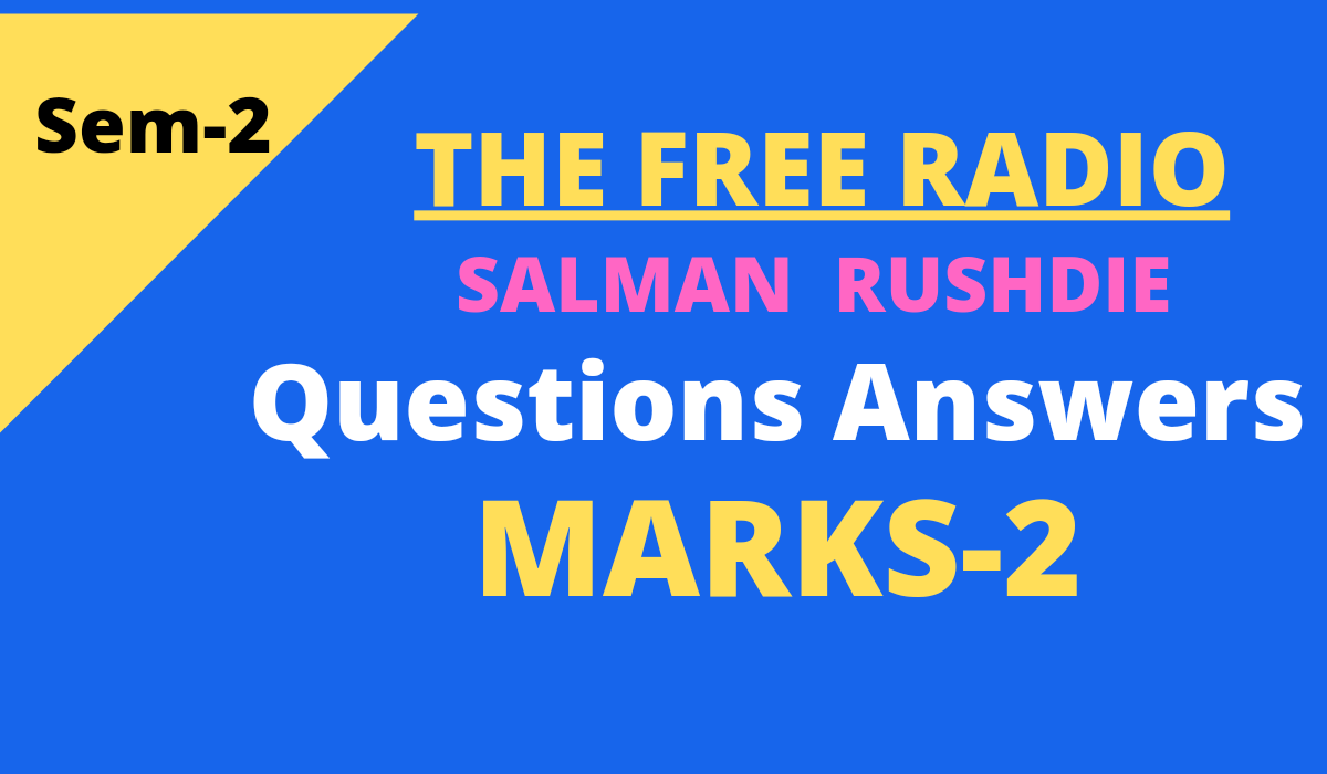 The Free Radio questions and answers
