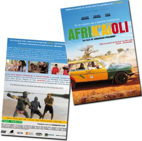 Jaquette DVD Afrik'Aïoli