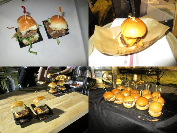 The Bar (top left), Swine Burger (top right), Sushi Maki (bottom left), Cibo Wine Bar (bottom right)