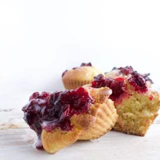 Orange Cranberry Muffins (Vegan Friendly)
