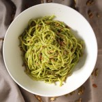 Sunflower and Pumpkin Seed Vegan Kale Pesto