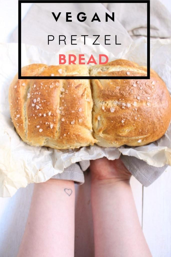 Vegan Pretzel bread