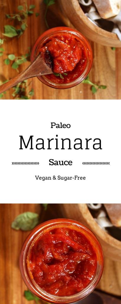 Paleo Marinara Sauce| This is an easy tomato sauce recipe, that is both paleo and vegan. And did I mention that it is cheap too ? | BrokeFoodies.com