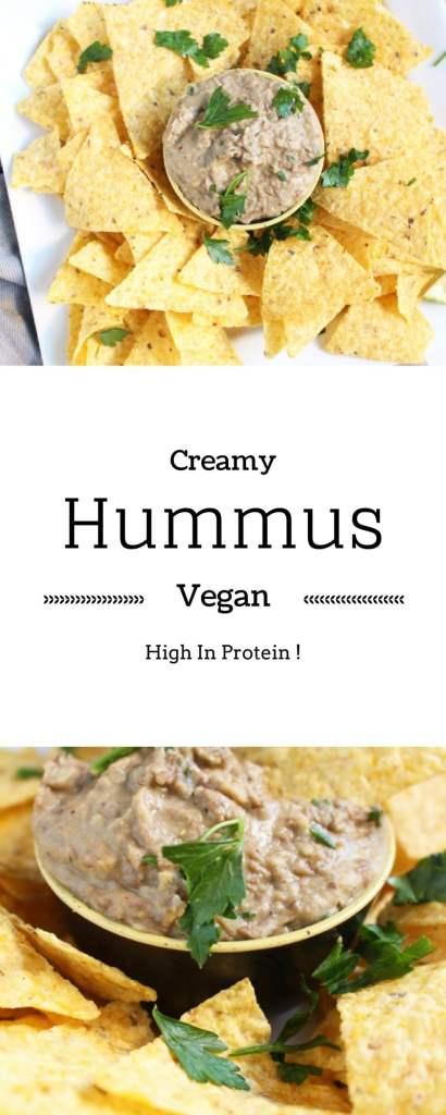 Easy, Rich, Vegan Lentil Hummus Recipe. With a twist !