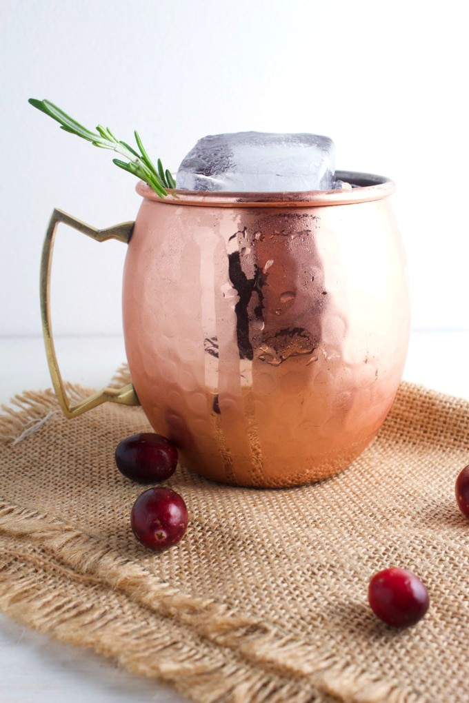 Holiday Moscow Mule – Get excited this Christmas for this crowd pleaser, it will make all your friends and loved ones super happy. This is a cranberry Moscow Mule