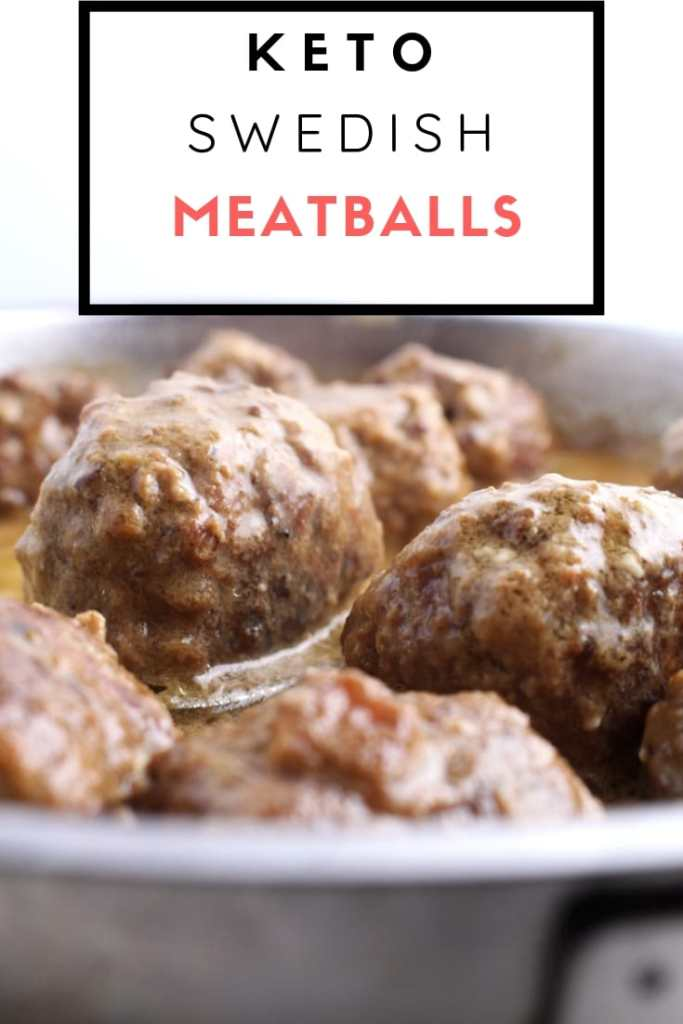Swedish Meatballs in Saucepan