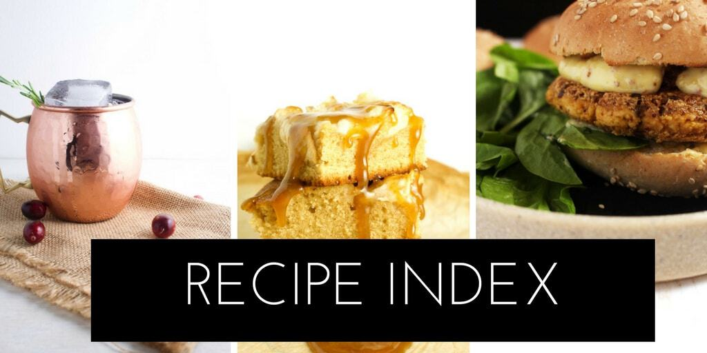 Check out all our recipes by visiting our recipe index!