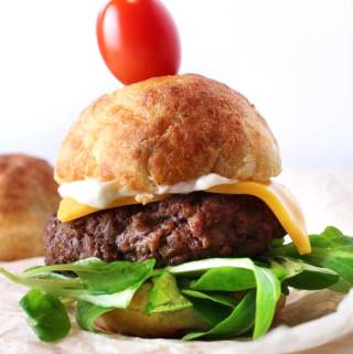 Amazing Keto Cheeseburger Sliders