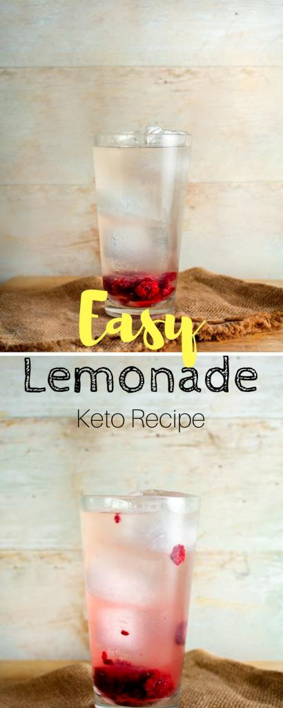 Keto lemonade   If you're looking for a sweet & sugar-free drink for the summer, this is it.