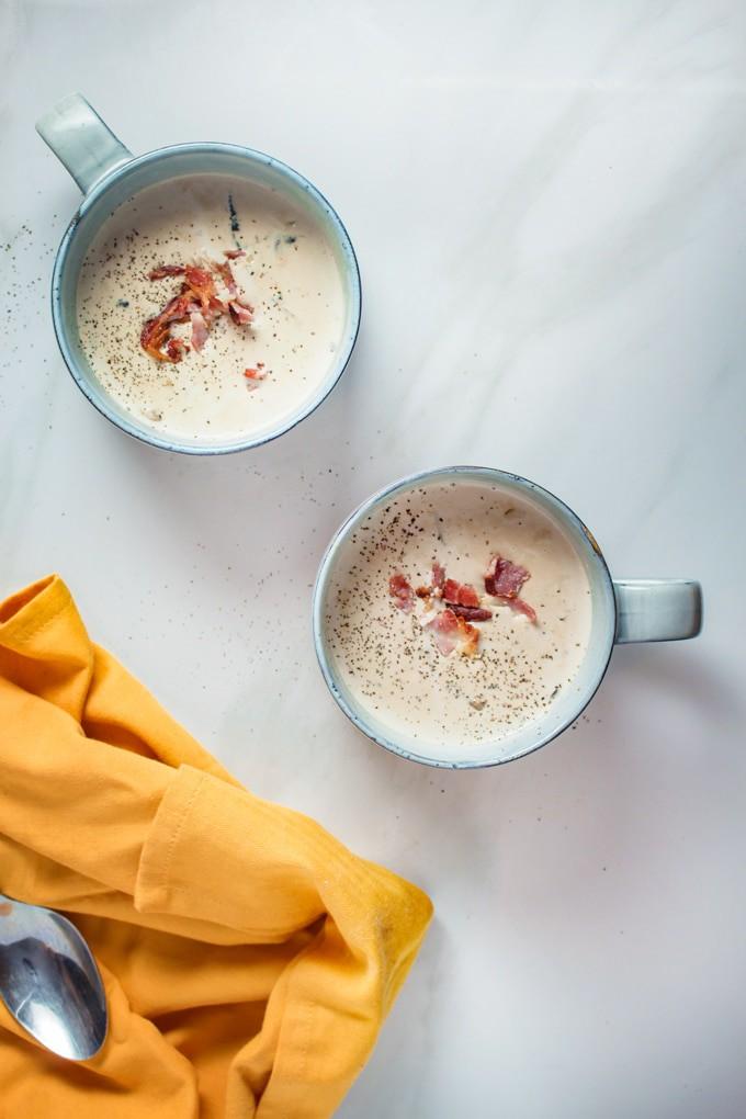 Keto-Cream-of-Mushroom-Soup