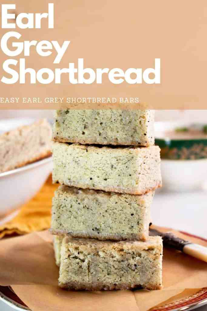 These Earl Grey Shortbread bars are not only easy to make but are an absolute afternoon delight. All you need is 6 ingredients and a baking tray to get cooking! #shortbread #bars #cookies #easy #christmas #recipe #earl #grey