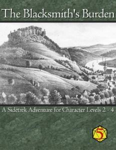 Blacksmiths Burden - 5E cover