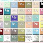Armitage Bathroom colourchart