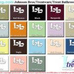 Trent Bathroom colourchart