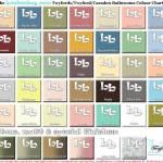 Twyfords Bathroom colourchart