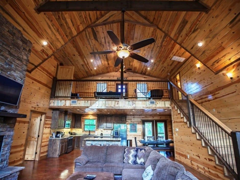 Broken Bow Vacation Cabins Dream Big 4 Bedroom35