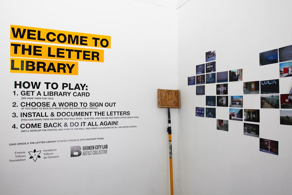 Recap of the Letter Library Opening Event! – Broken City Lab