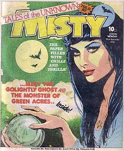 Selected Reprints of Classic British Girls' Weekly 'Misty' Finally on the Horizon!
