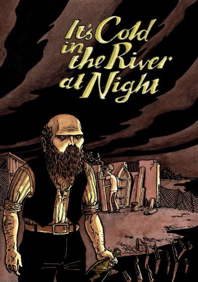 Preview: It's Cold in the River at Night - Avery Hill Publishing to Debut First Long-Form Work by Acclaimed Artist Alex Potts