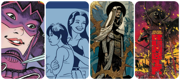 Staff Picks for December 13, 2017 - Angels and Magpies: A Love and Rockets Book, The Wicked + The Divine Christmas Annual, The Unbeatable Squirrel Girl and More!
