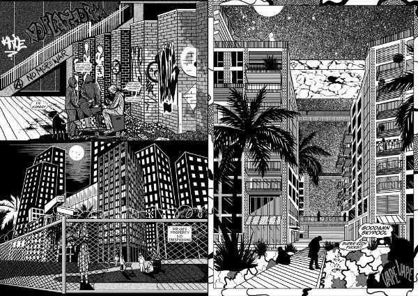 Black Matter - Cat Sims Combines the Pop Cultural and the Psychogeographical in this Powerful Piece of Comics Social Commentary