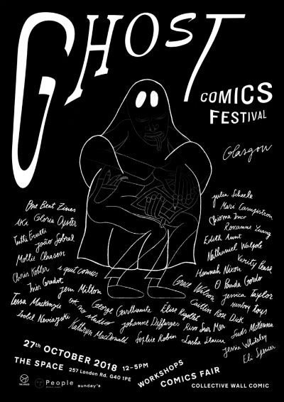 Ghost Comics Festival Debuts on October 27th - New Alternative Comics Show Aims to Promote Local Indie Talent in Glasgow