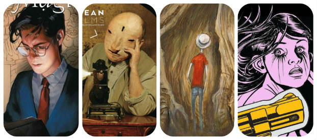 Staff Picks for October 24, 2018 - Wolf, The Books of Magic, Dave McKean: Short Films, Lodger and More!