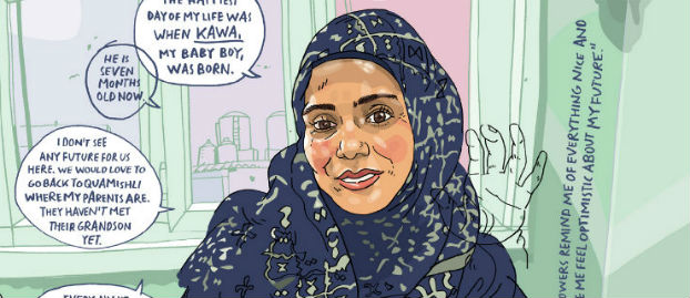 Escaping Wars and Waves: Encounters with Syrian Refugees - Olivier Kugler's Graphic Reportage Brings Powerful Personal Stories to the Page