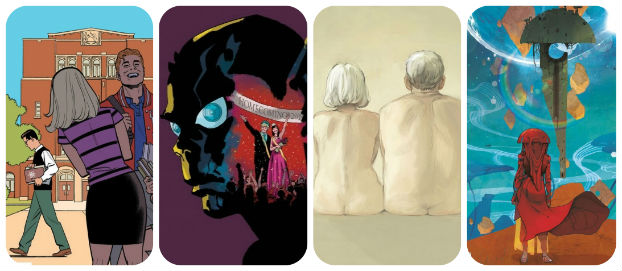 Staff Picks for March 20, 2019 - Blossoms in Autumn, Invisible Kingdom, Fran of the Floods and More!
