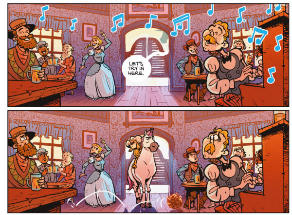 The Adventures of Pup & Grumpicorn - Emily Owen and Gavin Mitchell's Mischievous All-Ages Comic is a Multi-Genre Delight