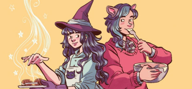 Mooncakes - Wendy Xu and Suzanne Walker's Sweet Coming-of-Age Fantasy from Lion Forge