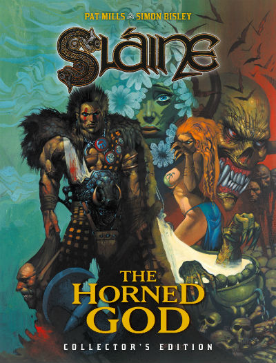 Pat Mills and Simon Bisley's Groundbreaking 2000 AD Series 'Sláine: The Horned God' to Get Collector's Edition in 2020