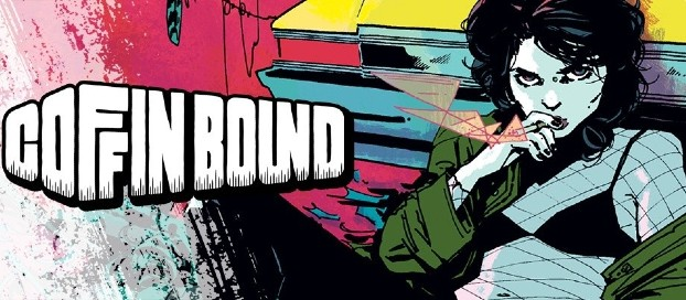 Coffin Bound Vol. 1: Happy Ashes - Dan Watters and Dani's Nihilistic Supernatural Thriller Sucks the Reader in with a Dizzying and Desolate Allure