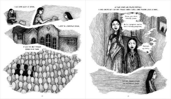 Mongrel - Sayra Begum's Study of Intergenerational Conflict and the Pull of Two Cultures Makes for an Assured Debut Graphic Novel
