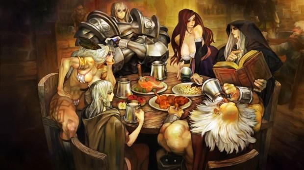 [From top left going clockwise] Fighter, Sorceress, Wizard, Dwarf, Elf, Amazon