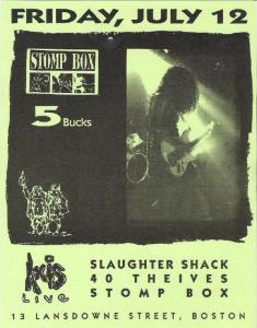 Stompbox Flyer - Vintage!!!