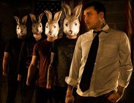 Angry Bunny Mask Wearing Guys