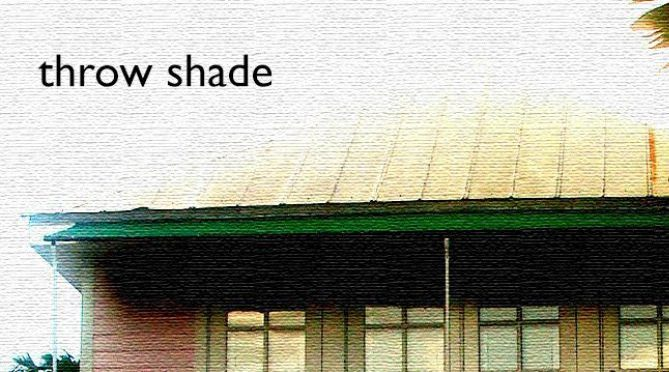 Check It Out: Throw Shade