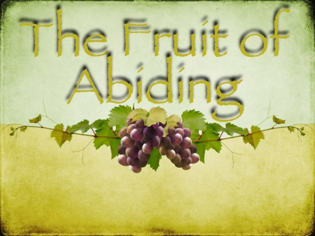 The Fruit of Abiding