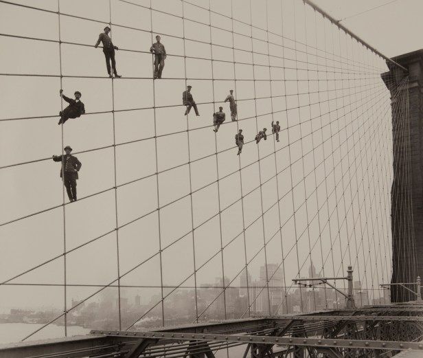 Painters on Brooklyn Bridge