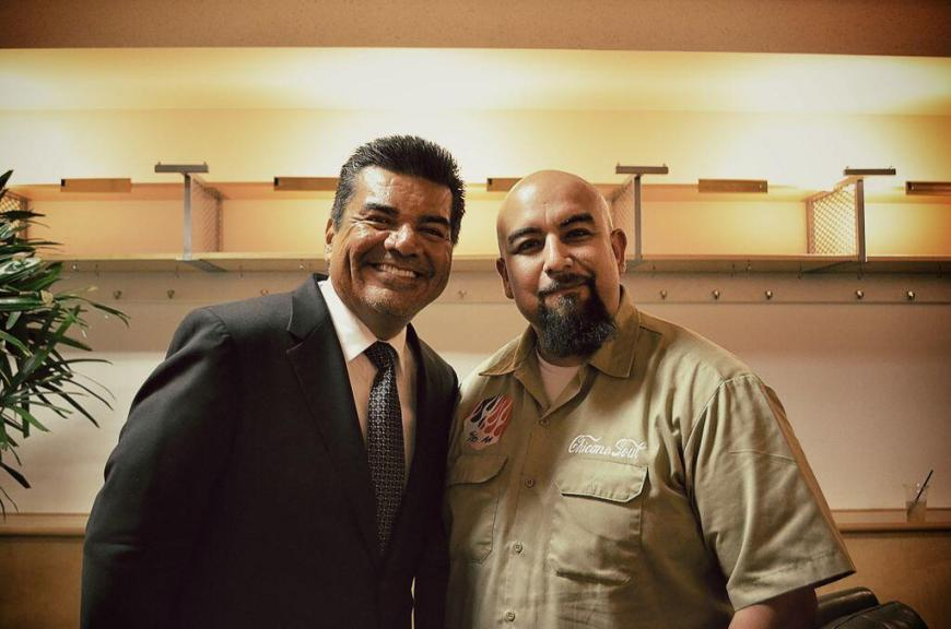 George Lopez and Art Meza