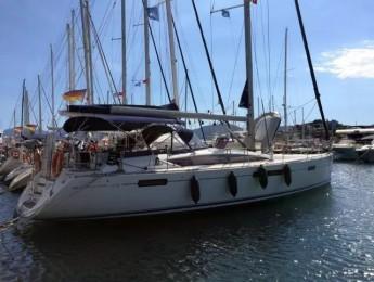 Velero tipo crucero Jeanneau 53