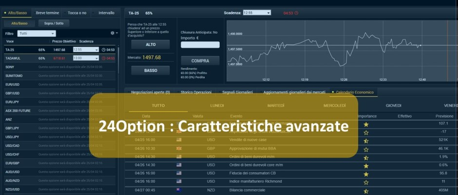 fare trading con 24option