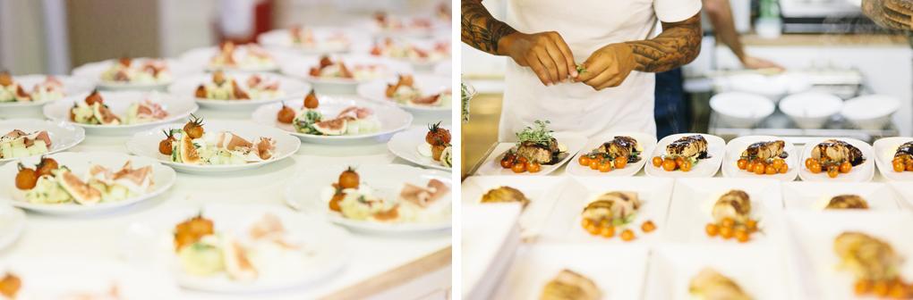 bröllop kinna mariebergsparken mat
