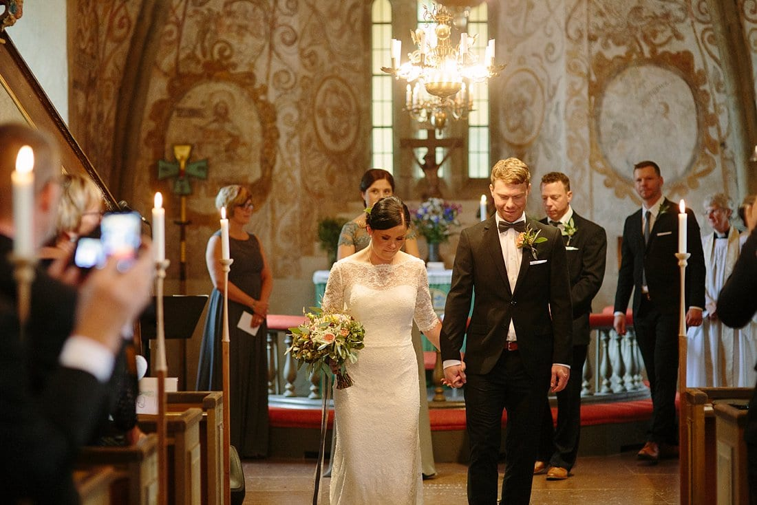 bröllop forshems kyrka